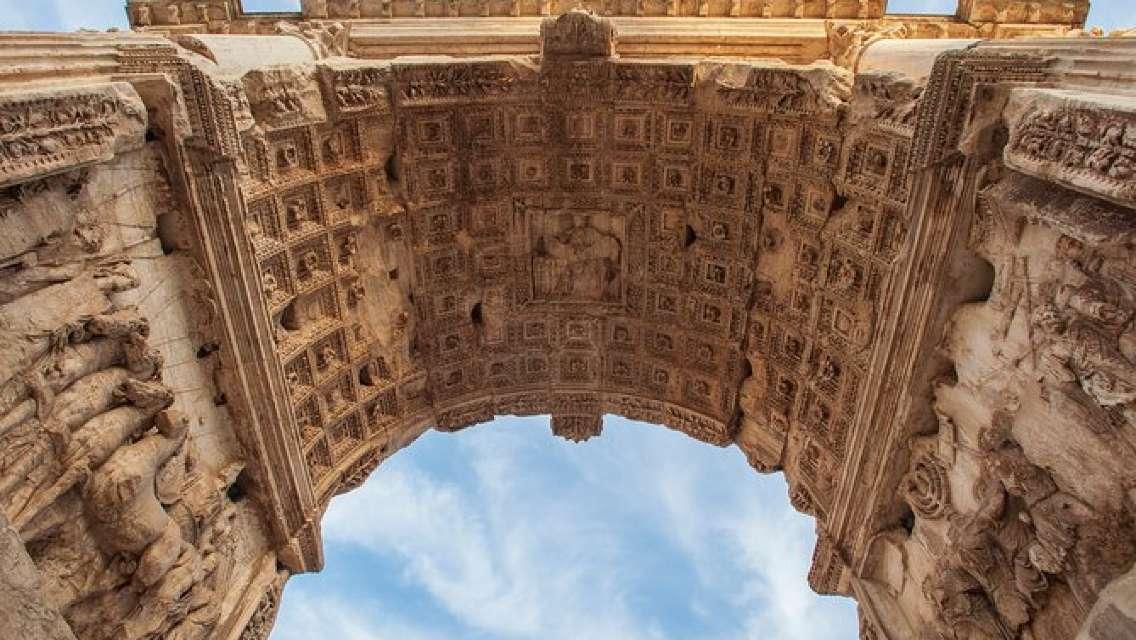 VIP Eternal Tours Rome: Triumphal Arches & Colosseum Combatant's Gate Ticket