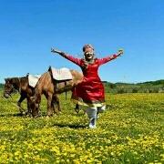 马背上的姑娘