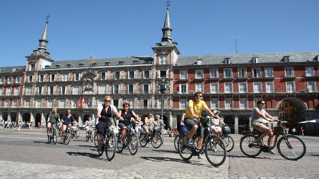 [Outdoor Cycling] Madrid Bike Tour