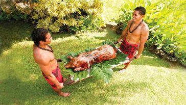 美国夏威夷晚餐3