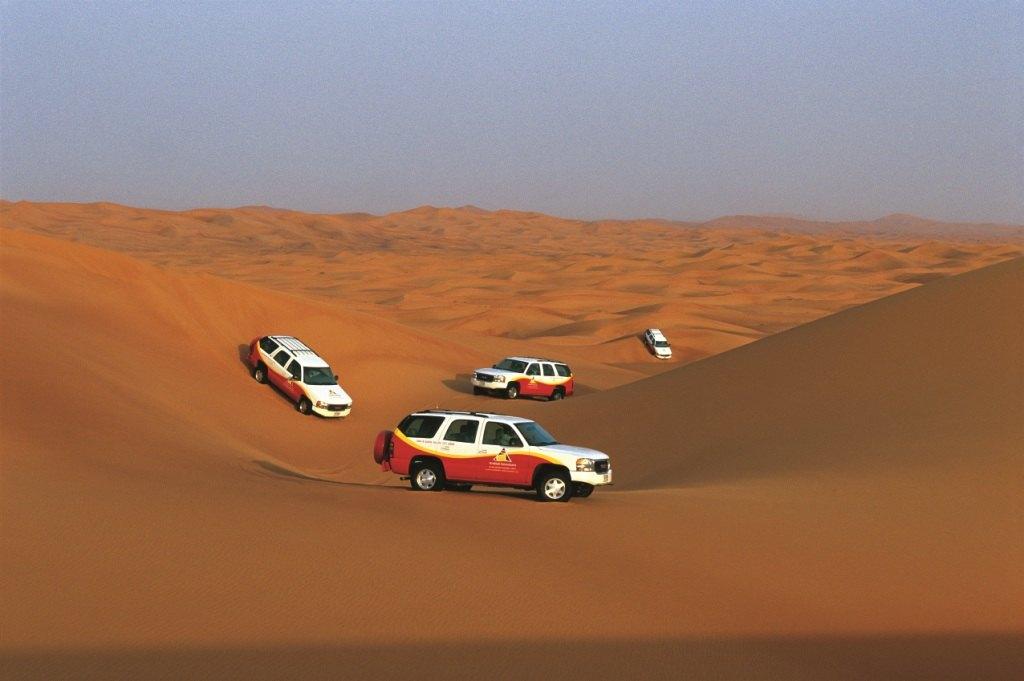杜拜沙漠保護區夏日清晨沙丘半日遊(四驅座駕 清晨出行)
