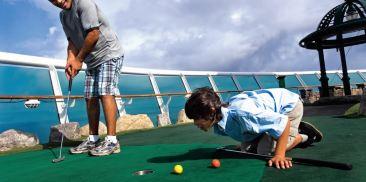 9洞迷你高尔夫推杆练习场