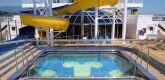 泳池滑道 Water slide