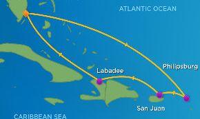 跟团游·阳光加勒比海巡游+休闲迈阿密12天10晚