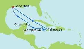 美国+墨西哥+大开曼岛+牙买加