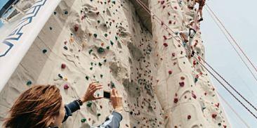 海上攀岩墙