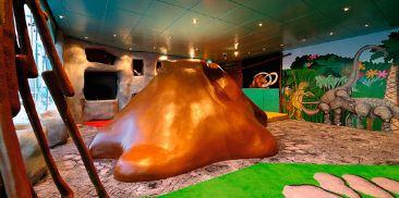 恐龙儿童游戏室