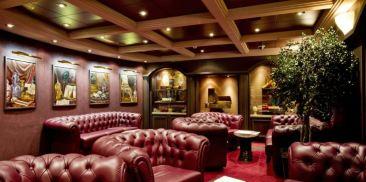 古巴雪茄室休息室