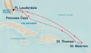 伊柳塞拉岛+美属维尔京群岛+荷属圣马丁岛