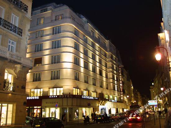 巴黎卡斯蒂尼奧那酒店(Hotel de Castiglione Paris)外觀