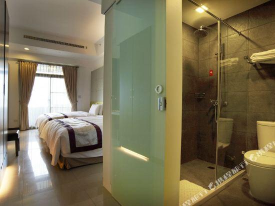 台北大師商旅(Master Hotel)白宮雙人房