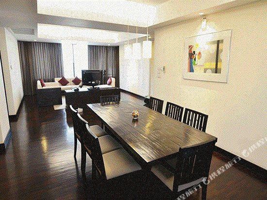 曼谷璀璨服務公寓酒店(Abloom Exclusive Serviced Apartment Bangkok)三居室豪華套房