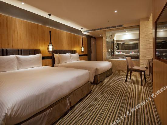 豐邑逢甲商旅(La Vida Hotel)温馨四人房