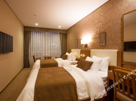 首爾明洞洛伊斯酒店(Loisir Hotel Seoul Myeongdong)高級雙床房 (1)