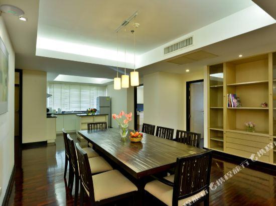 曼谷璀璨服務公寓酒店(Abloom Exclusive Serviced Apartment Bangkok)3 Bedroom Deluxe Suite (Display)
