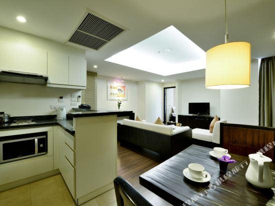 曼谷璀璨服務公寓酒店(Abloom Exclusive Serviced Apartment Bangkok)一居室豪華房