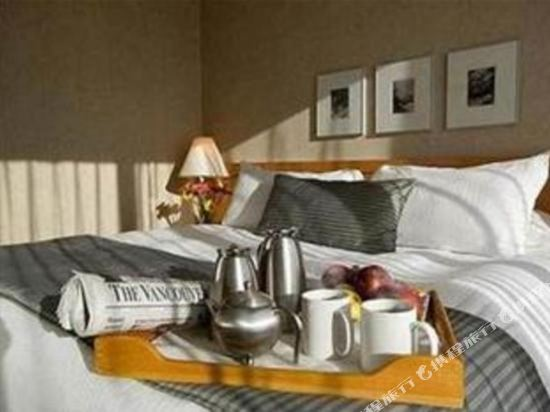 温哥華市中心萬豪德爾塔酒店(Delta Hotels by Marriott Vancouver Downtown Suites)特色俱樂部套房
