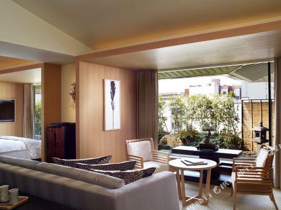 京都麗思卡爾頓酒店(The Ritz-Carlton Kyoto)Garden Suite, Larger Guest room, 1 King, City view (Display)