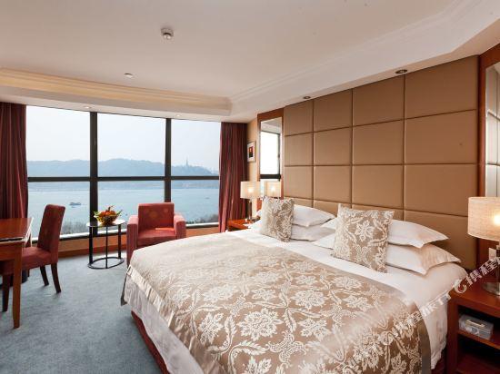 杭州馬可波羅濱湖酒店(Merchant Marco Edgelake Hotel)湖景大床房