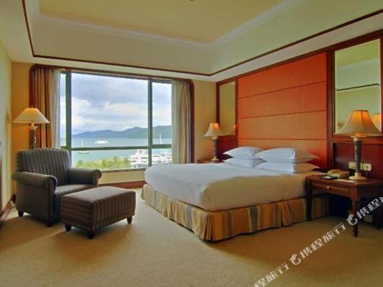 哥打京那巴魯絲綢太平洋酒店(The Pacific Sutera)俱樂部海景房