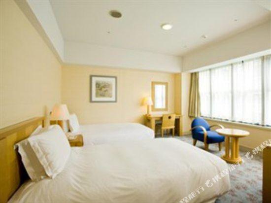福岡凱悅酒店(Hyatt Regency Fukuoka)轉角雙床房