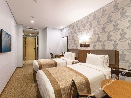 首爾明洞洛伊斯酒店(Loisir Hotel Seoul Myeongdong)商務雙床房(無窗)