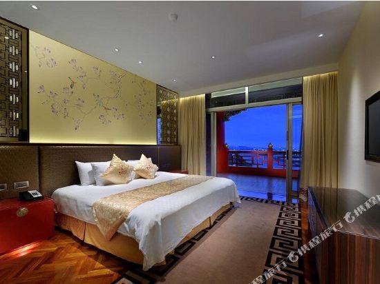 台北圓山大飯店(The Grand Hotel)菁英市景商務大床房