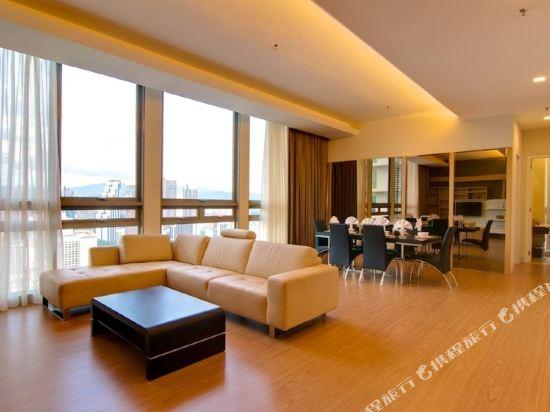 吉隆坡瑞園公寓(Swiss Garden Residences Kuala Lumpur)兩卧室套房