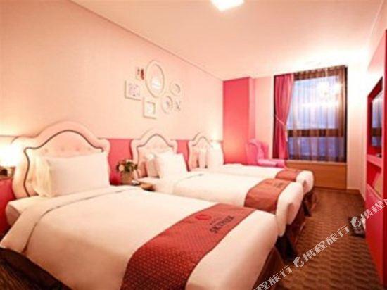 首爾天空花園酒店明洞中心店(Hotel Skypark Central Myeongdong Seoul)公主三人房