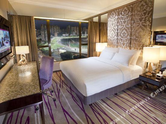 香港灣仔帝盛酒店(Dorsett Wanchai)尊貴豪華跑馬場景觀客房(全新裝潢)