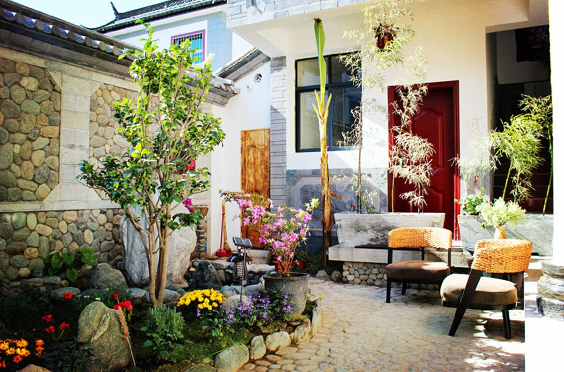 大理古城風的顏色國際青年旅舍2號院Color of Wind International Youth Hostel 2nd Courtyard