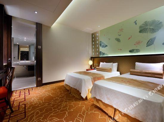 台北圓山大飯店(The Grand Hotel)無窗標準客房雙人房029