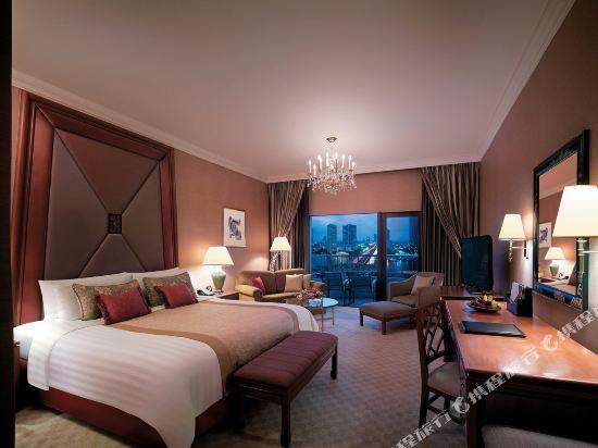 曼谷香格里拉酒店(Shangri-La Hotel Bangkok)翼河景房