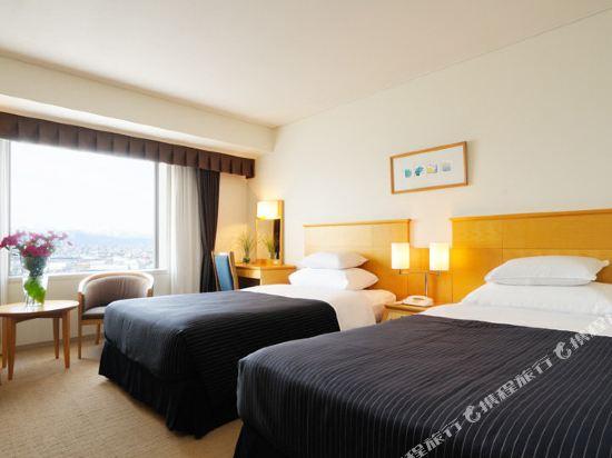 札幌艾米西亞酒店(Hotel Emisia Sapporo)高樓層雙床房