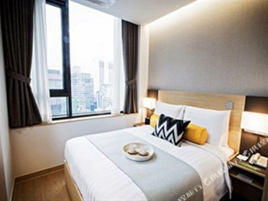 首爾南大門輝盛坊國際公寓(Fraser Place Namdaemun)大床房