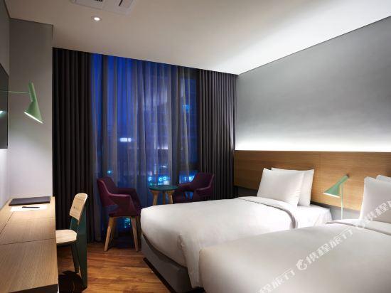 首爾陪圖江南酒店(Hotel Peyto Gangnam Seoul)Deluxe Twin (Display)