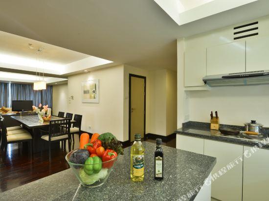 璀璨專享服務公寓(Abloom Exclusive Serviced Apartments)三居室豪華套房