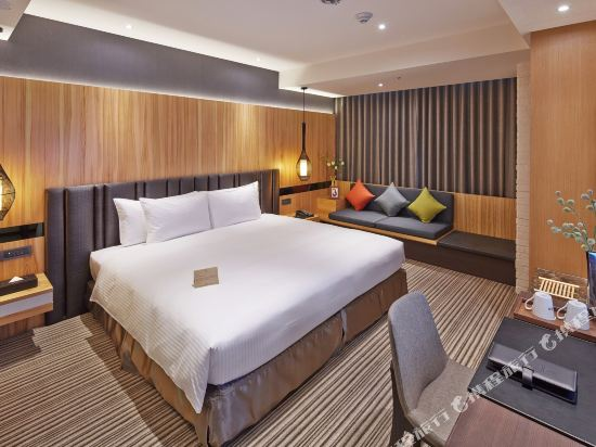 台中逢甲商旅(La Vida Hotel)標準雙人房