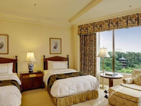東京椿山莊大酒店(Hotel Chinzanso Tokyo)豪華雙床房