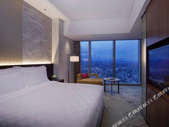 大阪萬豪都酒店(Osaka Marriott Miyako Hotel)高級雙人房