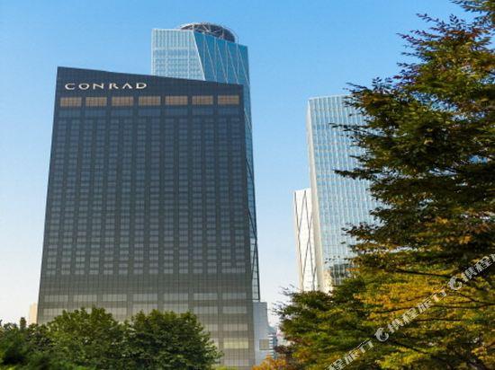韓國首爾國際金融中心康萊德酒店(Conrad Seoul IFC Korea)外觀
