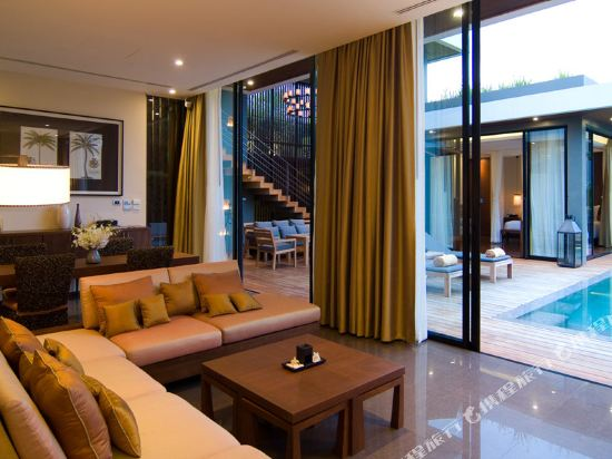 美憬閣索菲特華欣V別墅酒店(V Villas Hua Hin - MGallery by Sofitel)雙卧室泳池別墅套房(2張特大床)