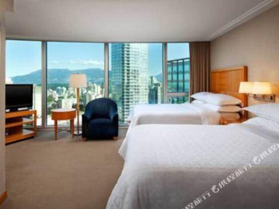 温哥華喜來登華爾中心酒店(Sheraton Vancouver Wall Centre)家庭套房
