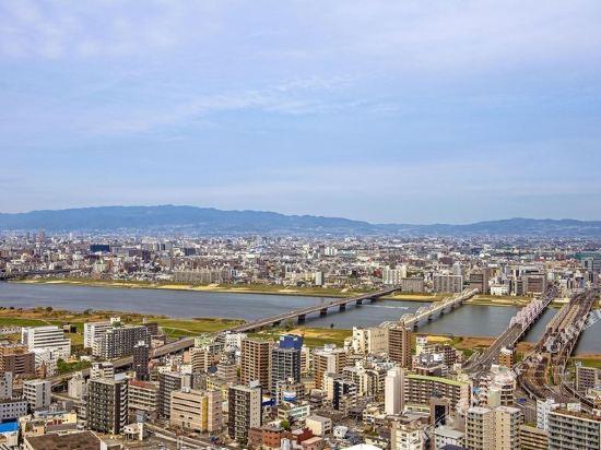 大阪洲際酒店(InterContinental Osaka)眺望遠景
