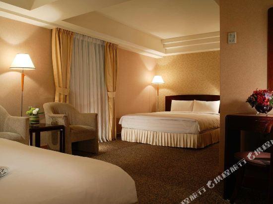 台北神旺大飯店(San Want Hotel)豪華雙人房