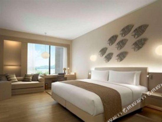 新山香格里拉公主港今旅酒店(Hotel Jen Puteri Harbour Johor Bahru by Shangri-La)俱樂部客房