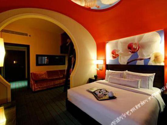 新加坡聖淘沙名勝世界節慶酒店(Resorts World Sentosa-Festive Hotel Singapore)豪華家庭大床房