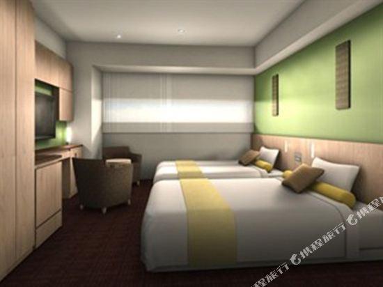 東京新宿格拉斯麗酒店(Hotel Gracery Shinjuku Tokyo)雙床房