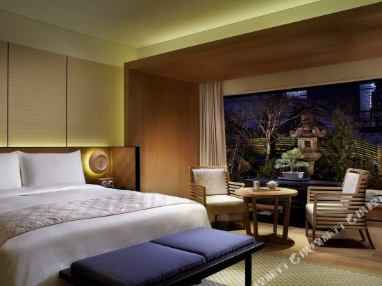 京都麗思卡爾頓酒店(The Ritz-Carlton Kyoto)Deluxe, Guest room, 1 King, City view (Display)
