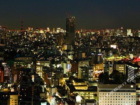 東京新宿格拉斯麗酒店(Hotel Gracery Shinjuku Tokyo)眺望遠景